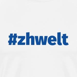 ZHWELT LOGO - Männer Premium T-Shirt