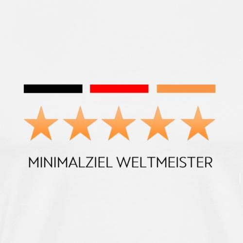 Fussball Fußball Deutschland 5 Sterne - Männer Premium T-Shirt