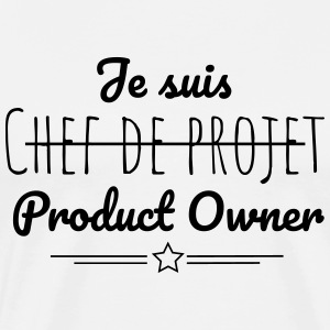 Je suis Product Owner - T-shirt Premium Homme
