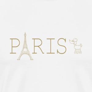 PARIS - Premium T-skjorte for menn