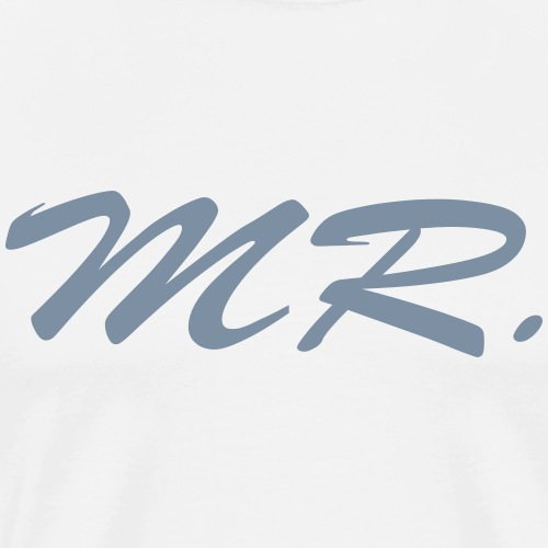 Mr. - Männer Premium T-Shirt