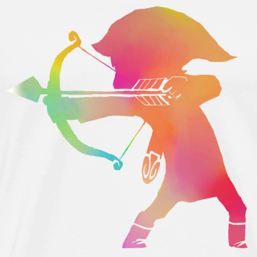 Gamer Archer multi couleur - T-shirt Premium Homme