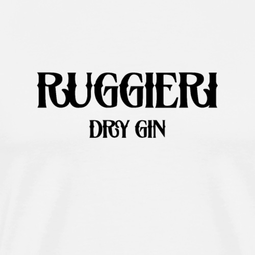 RUGGIERI DRY GIN - Männer Premium T-Shirt
