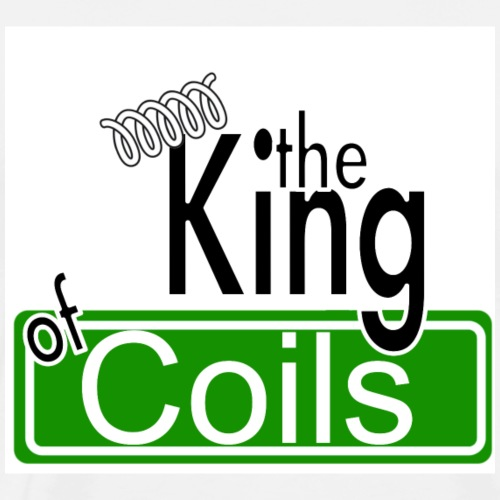 The King of Coils - Männer Premium T-Shirt