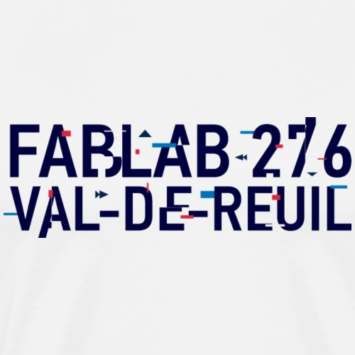 FabLab 276 style FAB14+ - T-shirt Premium Homme