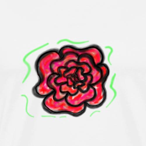 Rosa dei ricordi - Maglietta Premium da uomo