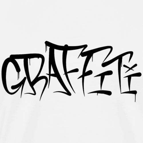 Graffiti Tag - Männer Premium T-Shirt