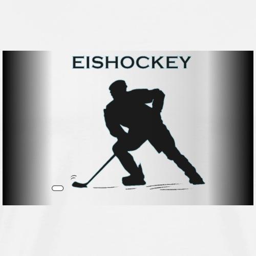 Eishockeyspieler - Männer Premium T-Shirt