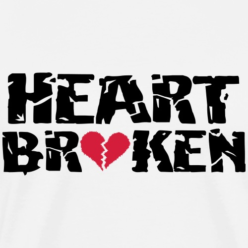 Heart <3Broken - Men's Premium T-Shirt