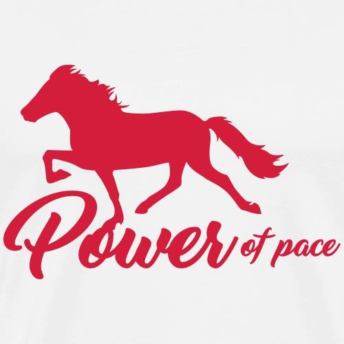 Power Of Pace - Islandpferd - Männer Premium T-Shirt