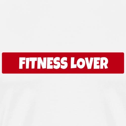 Fitness Lover - Männer Premium T-Shirt