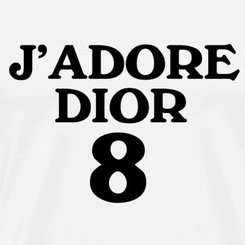 J'ADOREDIOR BLACK - Männer Premium T-Shirt