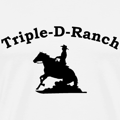 TD Cowboy - Männer Premium T-Shirt