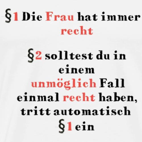 Frauen - Männer Premium T-Shirt