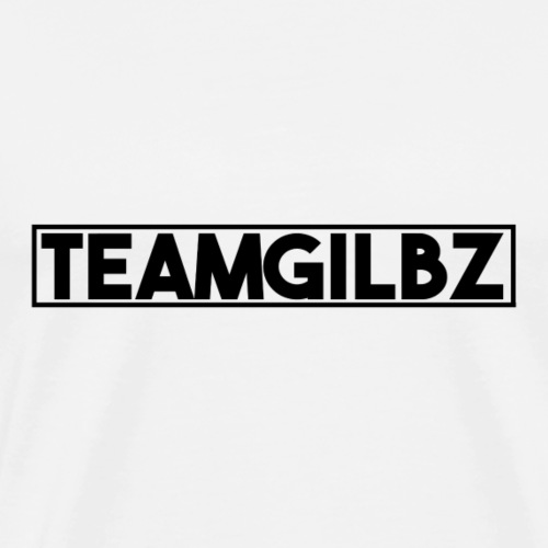 Team Gilbz White T-Shirt - Men's Premium T-Shirt