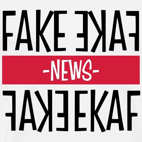 FAKE NEWS / DONALD TRUMP - Männer Premium T-Shirt