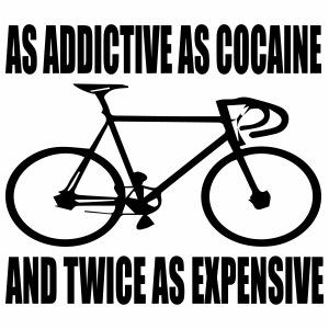 Cycling addict - Mannen Premium T-shirt