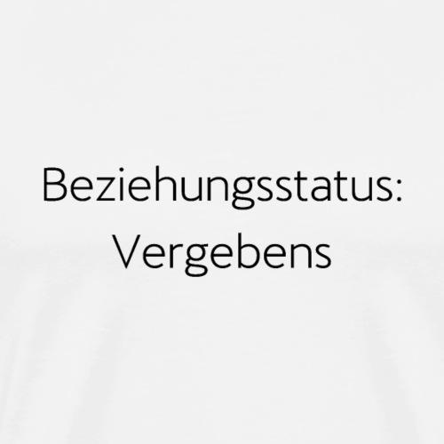 single Geschenk Partner Geschenkidee Beziehung - Männer Premium T-Shirt