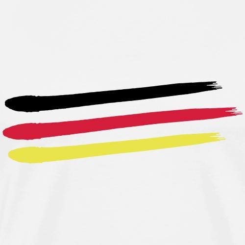 Weltmeister 2018 Deutschland Flagge WM T-Shirt - Männer Premium T-Shirt