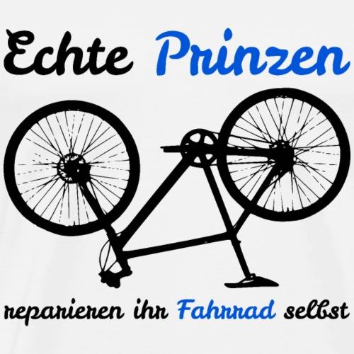 Echte Prinzen reparieren ihr Fahrrad selbst - Männer Premium T-Shirt