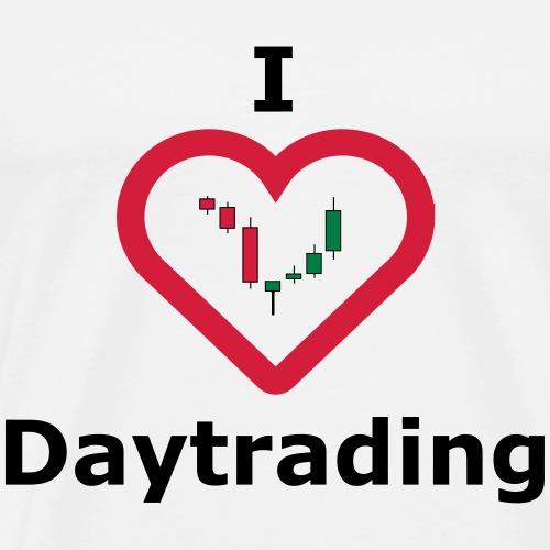 I Love Daytrading - Männer Premium T-Shirt