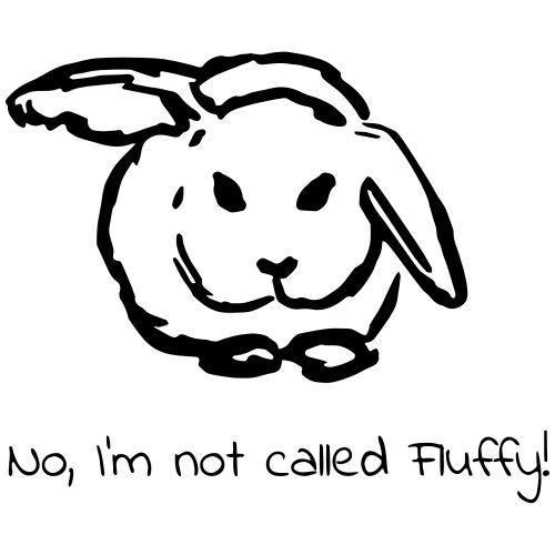 Fluffy Bunny - Männer Premium T-Shirt