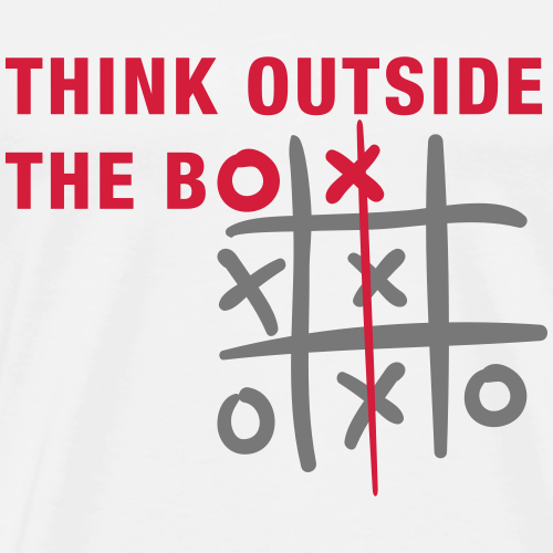Think outside the box - T-shirt Premium Homme