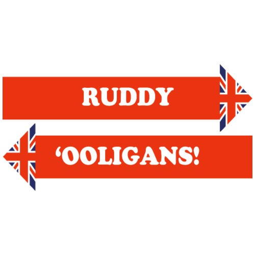 Dad's Army Catchphrase – Ruddy 'Ooligans! - Men's Premium T-Shirt