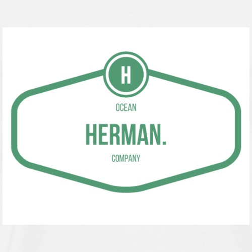 HERMAN RECTANGLE - Camiseta premium hombre