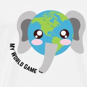 Eléphant d'Afrique - T-shirt Premium Homme
