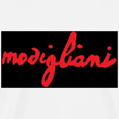 firm_red_black - Maglietta Premium da uomo