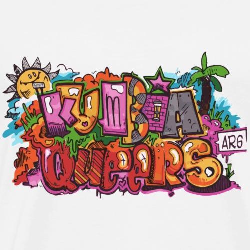 kumbia queers - Herre premium T-shirt