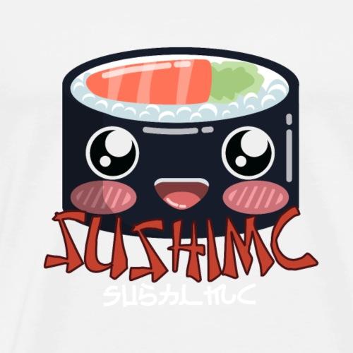 SushiMC Logo mit Schriftzug - Männer Premium T-Shirt