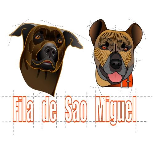 Fila de Sao Miguel - Ghia et Osiris (orange) - T-shirt Premium Homme
