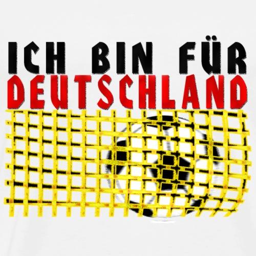ich bin für Deutschland - Männer Premium T-Shirt