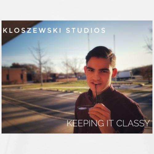 Keep it classy - Männer Premium T-Shirt