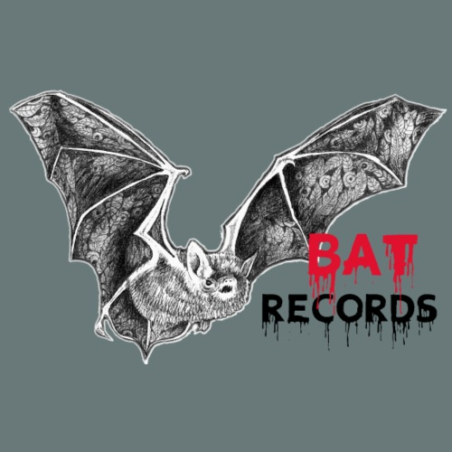 BAT RECORDS Bloody - Männer Premium T-Shirt