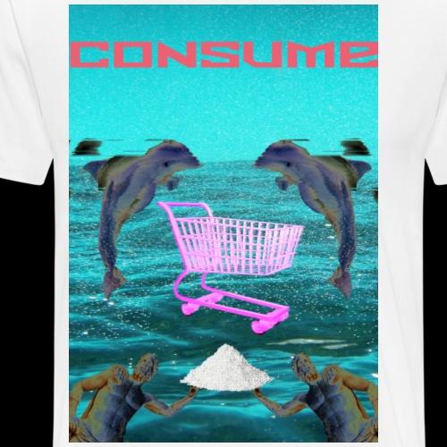 consume - Männer Premium T-Shirt