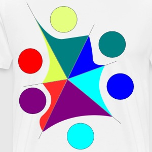 colors chaos - Men's Premium T-Shirt