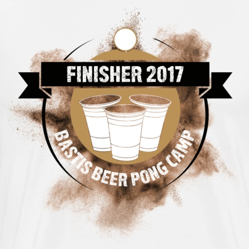 Finisher Beer Pong - Männer Premium T-Shirt