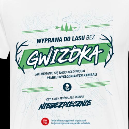 GWIZDEK - motyw ciemny - Koszulka męska Premium
