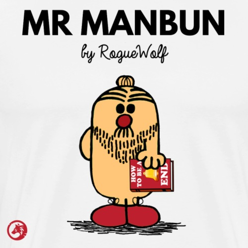 Mr Manbun - Men's Premium T-Shirt