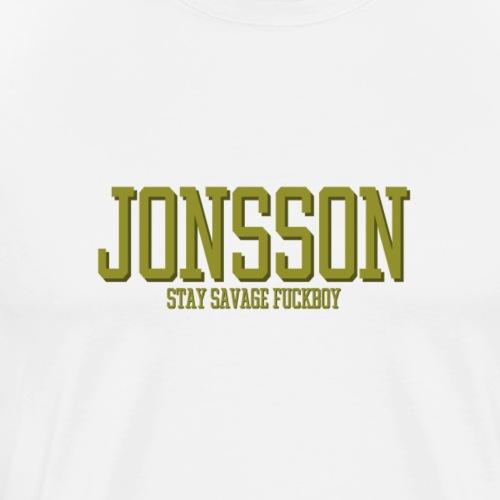 stayfuckboy - Premium-T-shirt herr