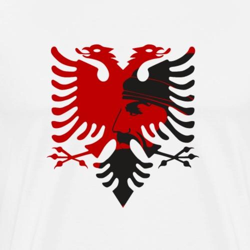 albanischer Adler skenderbeu shirt stolz - Männer Premium T-Shirt
