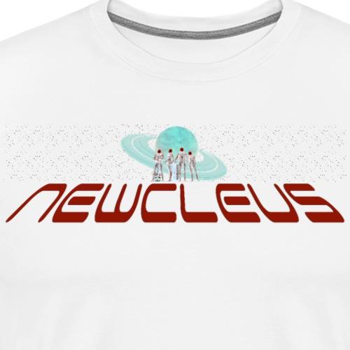 NewcleusWideLogo1inv - Men's Premium T-Shirt