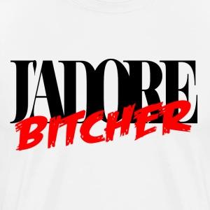 j'adore bitcher - T-shirt Premium Homme