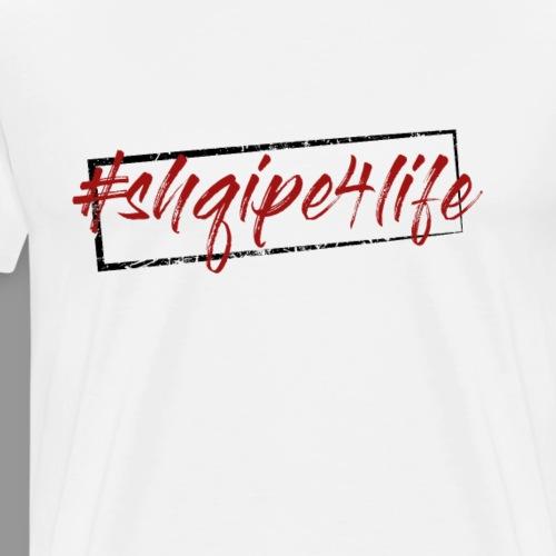 shqipe4life albanischer adler shirt geschenk - Männer Premium T-Shirt