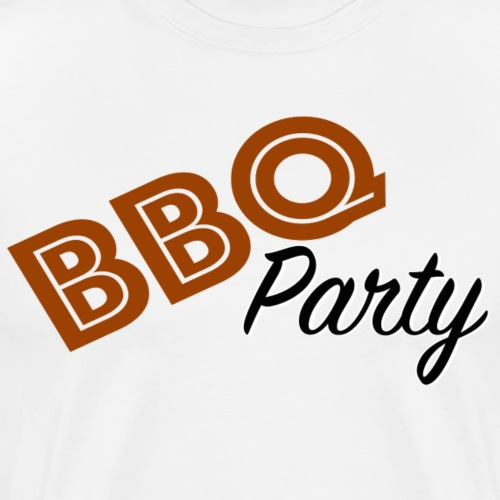 BBQ Party - Premium-T-shirt herr