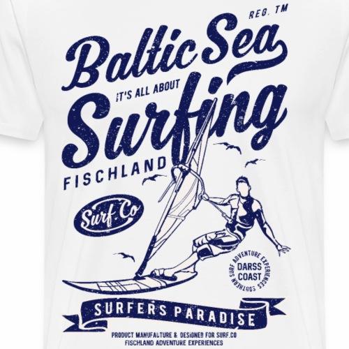 OSTSEE - Darss Küsten Windsurfen Geschenke Shirts - Männer Premium T-Shirt