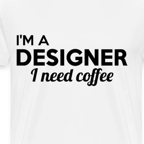 DESIGNER imprint! cool gift ideas - Men's Premium T-Shirt